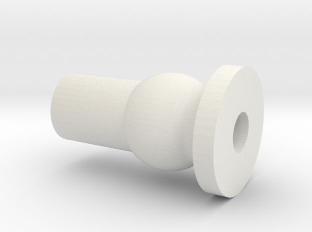 SK - CENTER TUBE PIVOT in White Natural Versatile Plastic