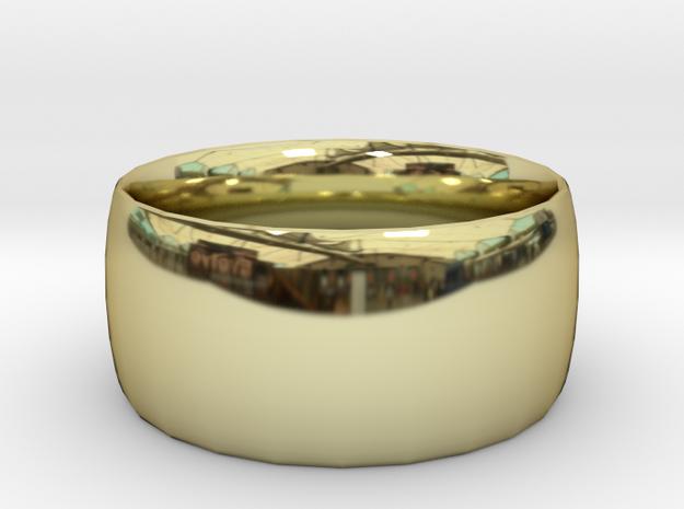 Ring (20x20) in 18k Gold