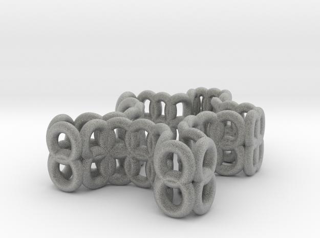 mini puzzle piece in Metallic Plastic