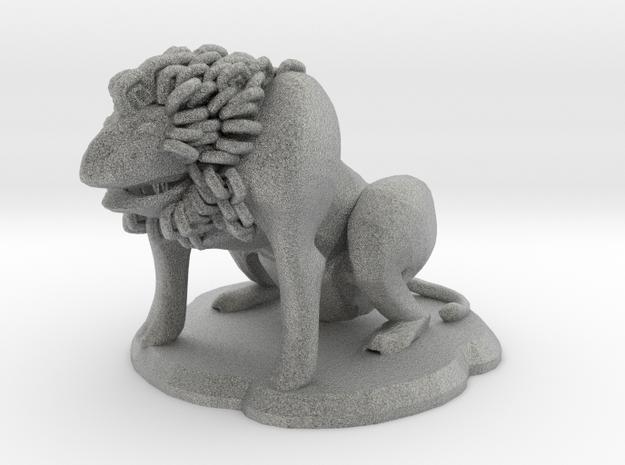 Fu Lion Figure 3d printed