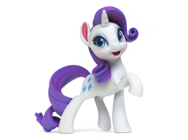 Rarity My Little Pony (6in Tall)