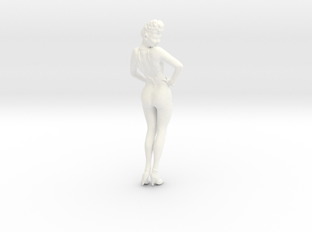 1-24 Betty Grable Bathsuit 3d printed
