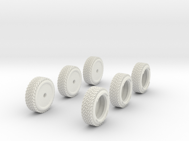 1-87 Ford Raptor Tire 3d printed
