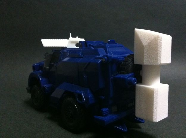 TFP BD weapon upgrade set 3d printed attach in Alt mode