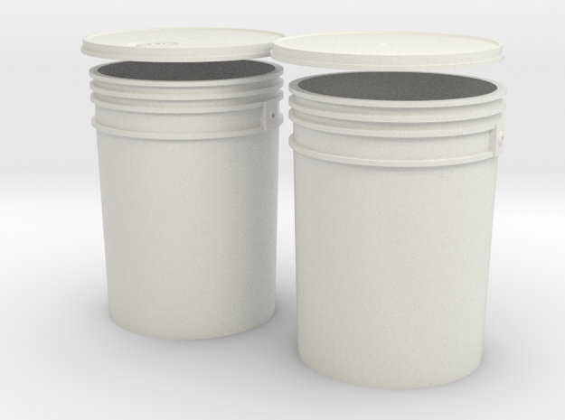 1:6 Scale 5 gal Buckets