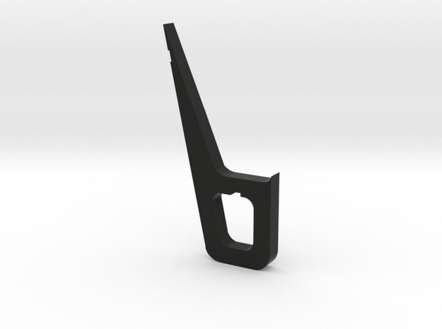 Leg Extension 25mm in Black Natural Versatile Plastic