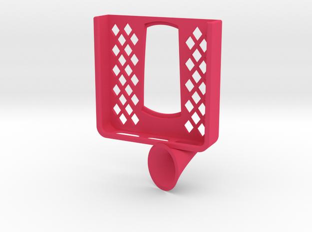Iphone 5 / SE (with case) navigon mount in Pink Processed Versatile Plastic
