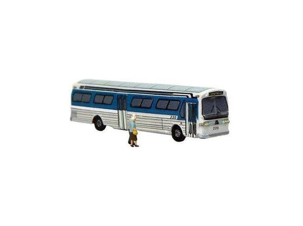 GM FishBowl Bus - Z Scale in Smooth Fine Detail Plastic