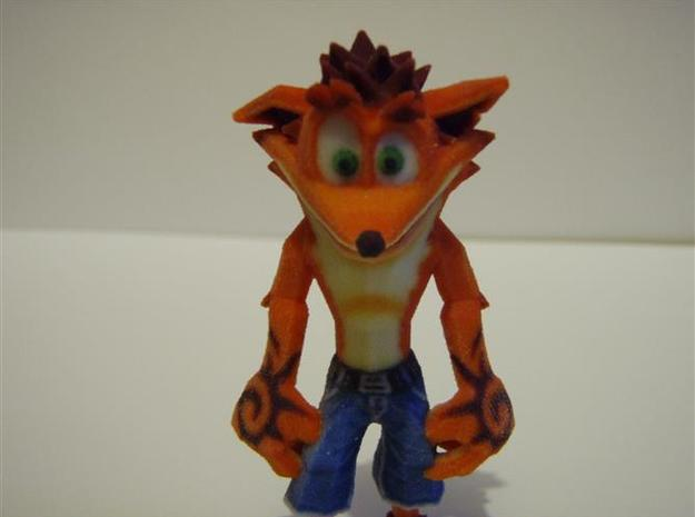 Crash Bandicoot - Normal Pose 76mm 3d printed