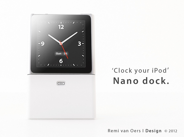 Nano dock - Dock your iPod Nano