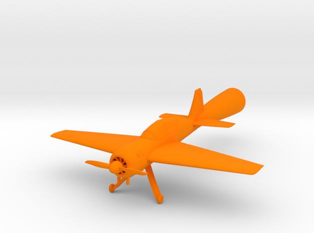 Yak 54 Mini in Orange Strong & Flexible Polished