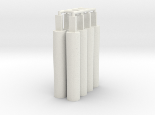 8x Pegs 2.0 in White Strong & Flexible