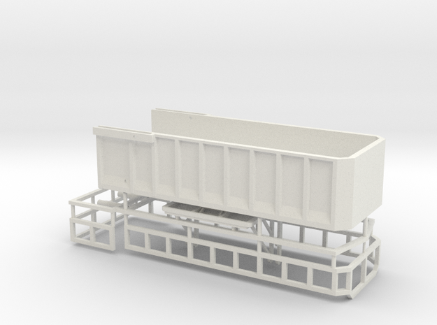 1/64 AS22 grain/silage bed in White Natural Versatile Plastic
