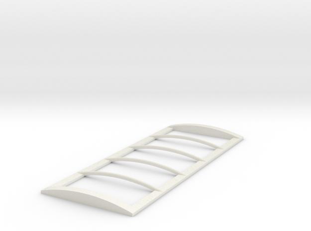 1/64 20' Tarp frame in White Natural Versatile Plastic