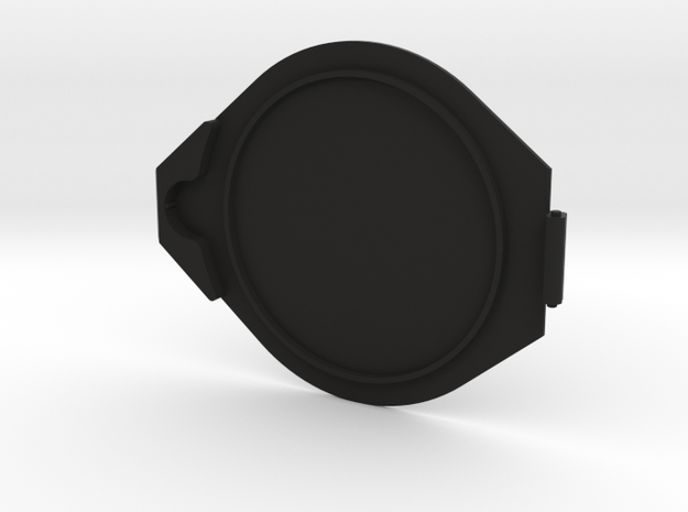 58mm Flip Lens Cap-cap in Black Natural Versatile Plastic