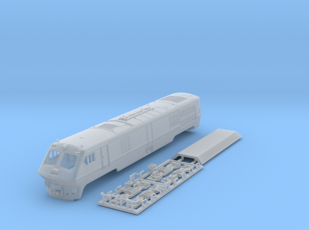 VIA / Amtrak LRC Loco (motorized end) N Scale