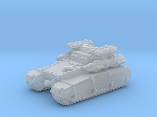 Rocket Irontank in Frosted Ultra Detail