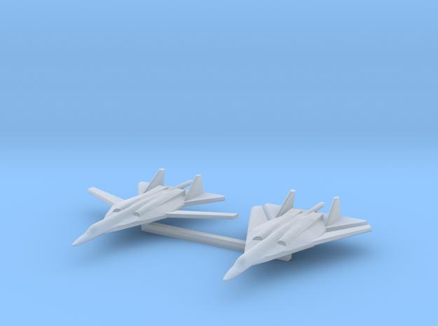 1/1200 Russian PAK DA Bomber 3d printed