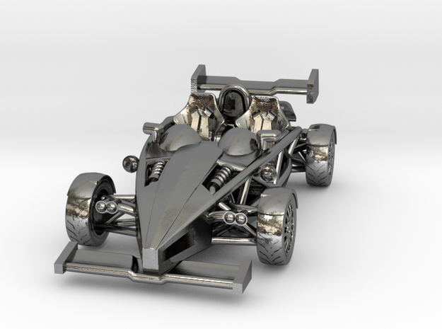 "Atom HO scale model w/wings 1.7"" LHD 3d printed"