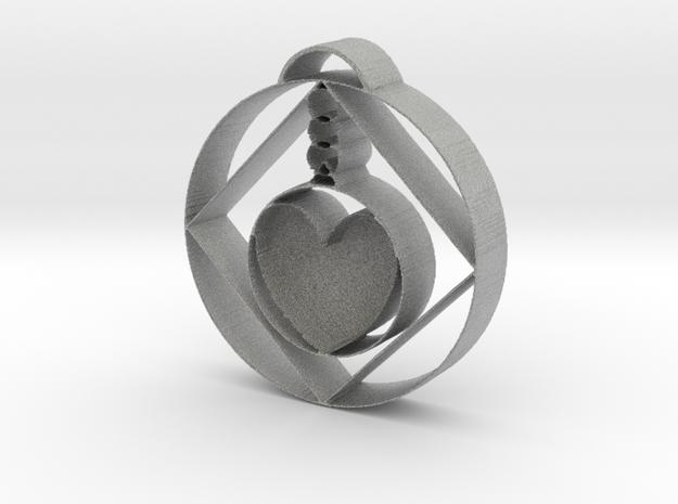 Love Alchemist Pendulum  in Metallic Plastic