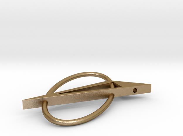 Quarta in Polished Gold Steel