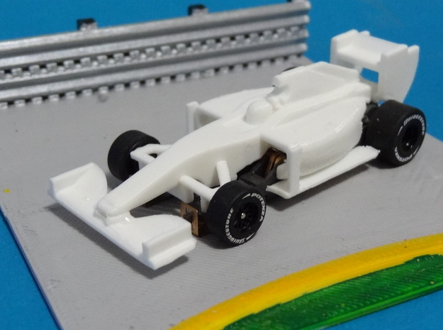 HO F1 2014 Slot Car Body