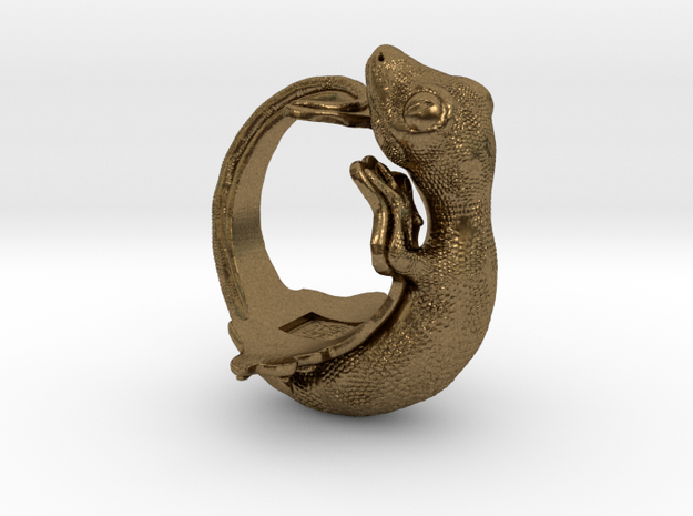 Gecko Size15 in Natural Bronze