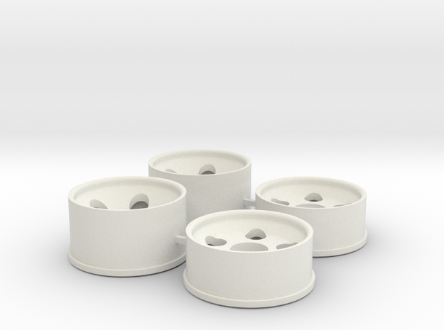 0.5 Offset in White Natural Versatile Plastic