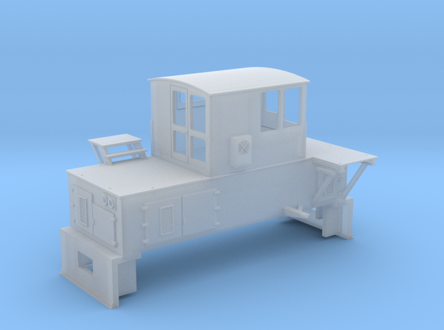 N-scale quench locomotive (RIGHT-hand version) 3d printed