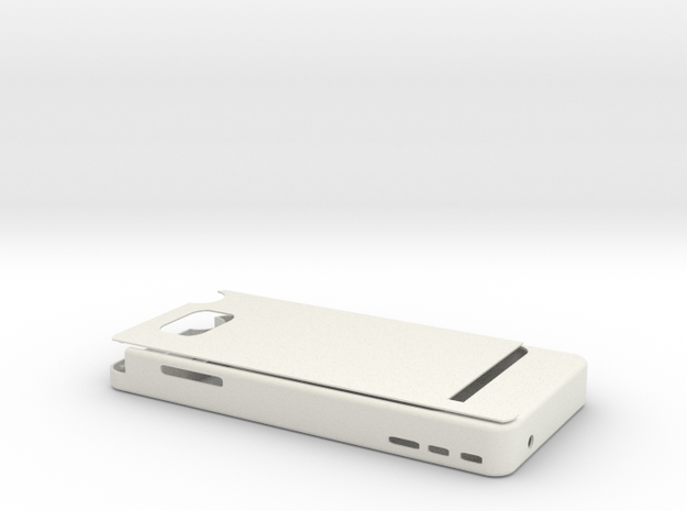 Note 2 3200mah Charger in White Natural Versatile Plastic