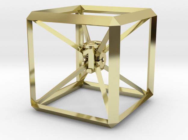 Guy Dascalu D6 dice unique design 3d printed