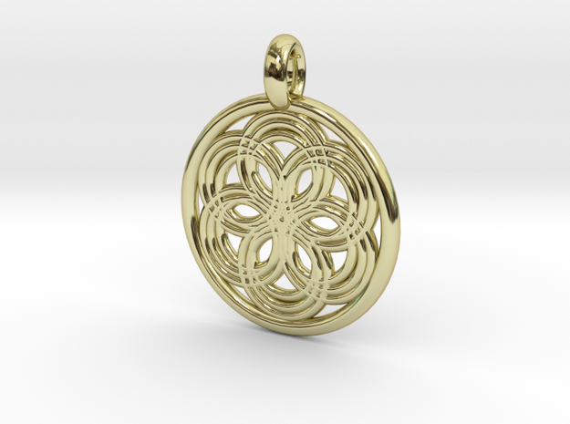 Thyone pendant in 18K Gold Plated