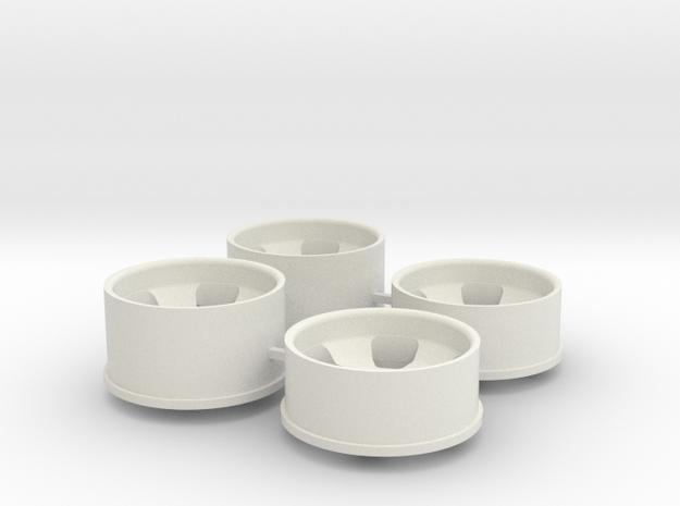 Ver2 2.0 Offset in White Natural Versatile Plastic