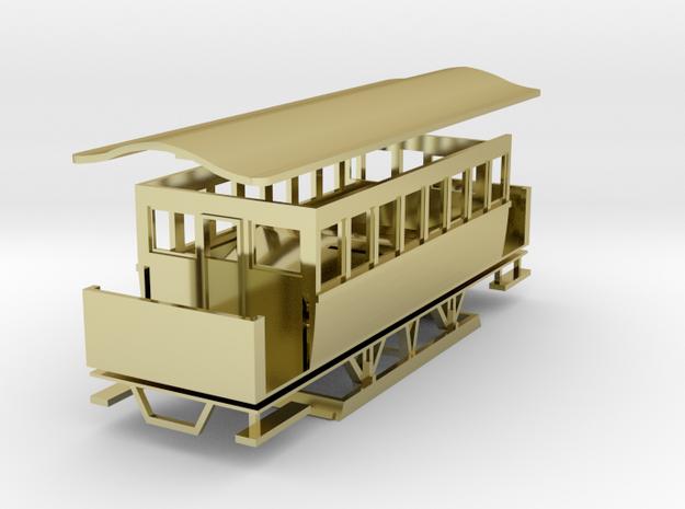 Wiener Straßenbahn Dampftramway Beiwagen Type l 3d printed