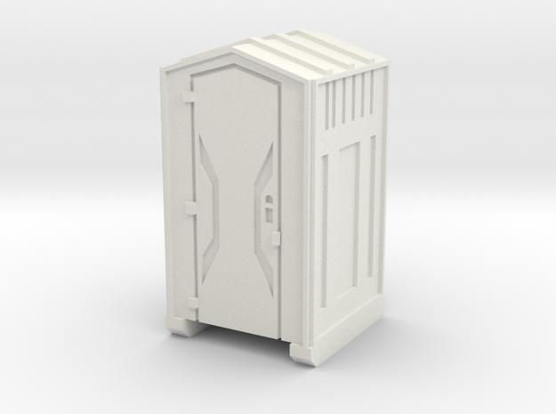 HO Scale Portable Toilet