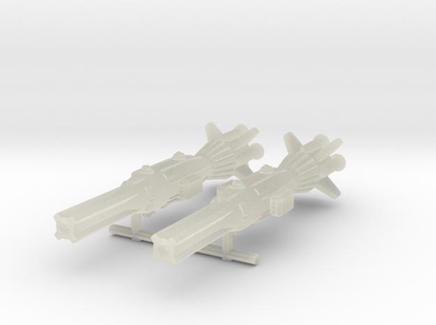 NuBlazers Amerik Destroyer Pair - Fleetscale 3d printed