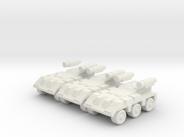 Recon: High Detail 3 Pack in White Strong & Flexible