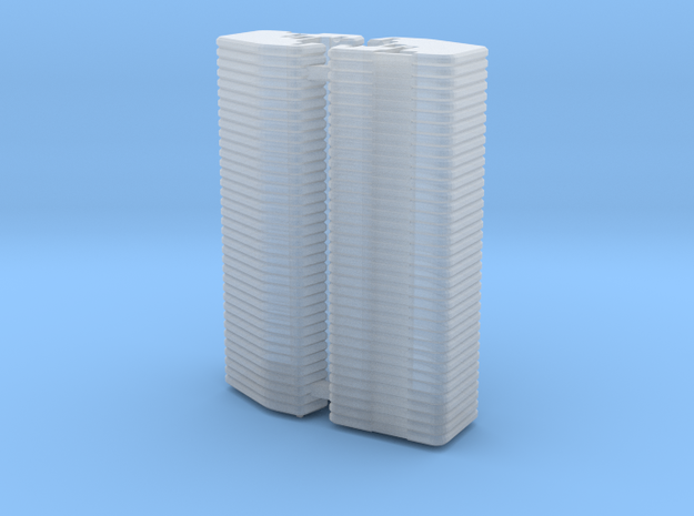 1/64 Front Weights 36 (2 Pieces) in Smooth Fine Detail Plastic