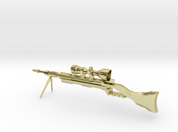 Bolt-action Rifle 3d printed