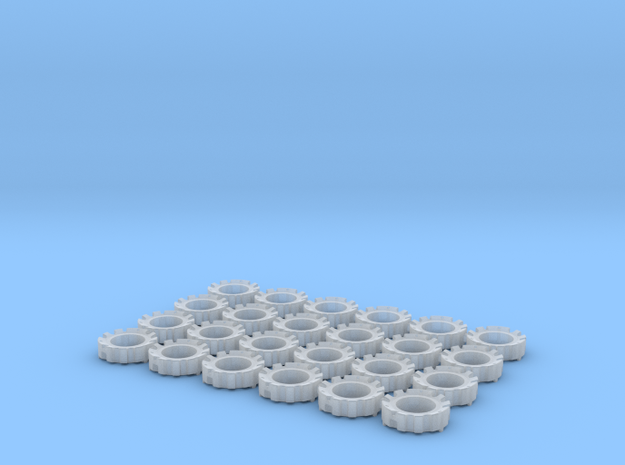 1/64 Wheel Weights Outers (24 Pieces)