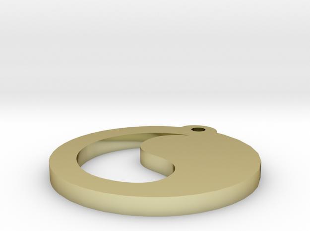 ying and yang 3d printed