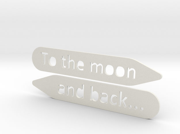 Collar stay: To The Moon and back...