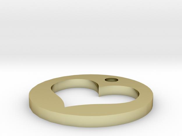 heart circle 3d printed