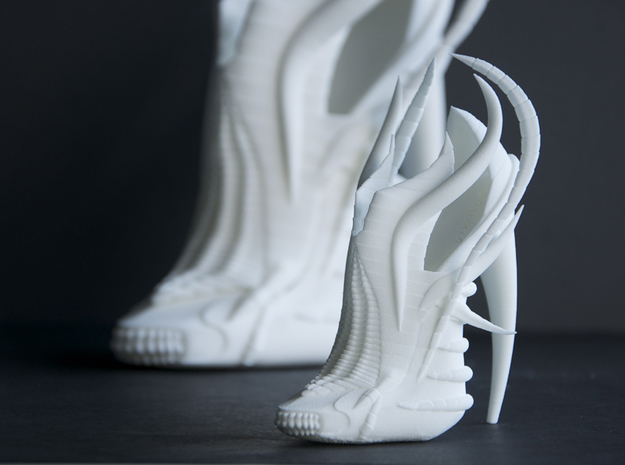 Exoskeleton Shoe - Mini 3d printed