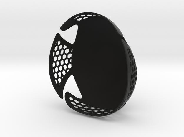 Protective Cap  in Black Natural Versatile Plastic