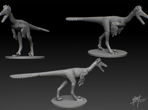Troodon 1/40 (WSF version) 3d printed