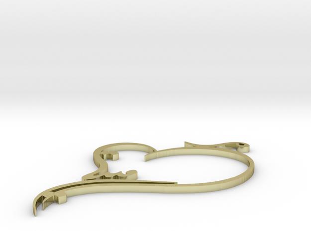 Armita gold 3d printed