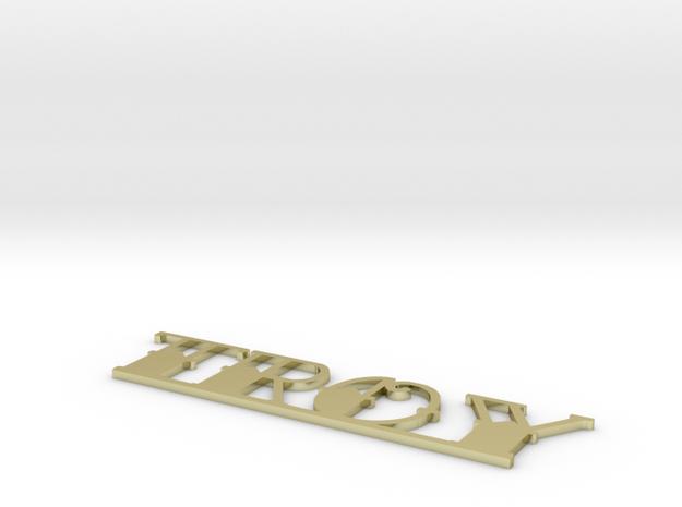 Troy Shapeways 3d printed
