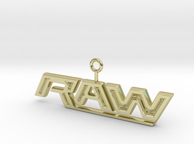 Raw Logo 3d printed