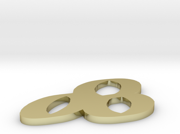 Three rings 3d printed